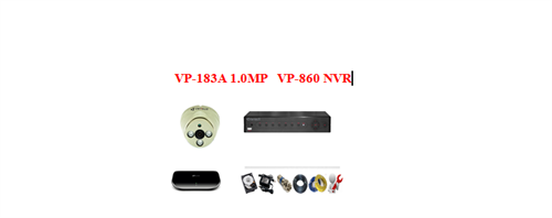 Camera Vantech IP 1.0mp (Trọn bộ 1 camera)